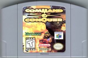 Command & Conquer (USA) Cart Scan